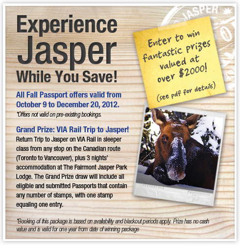 Experience Jasper While You Save!
